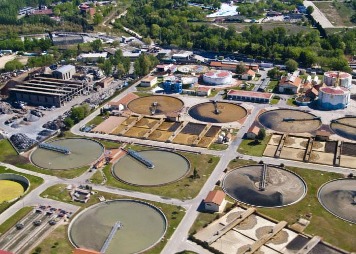 Planta de depuración de aguas residuales objeto de concesión