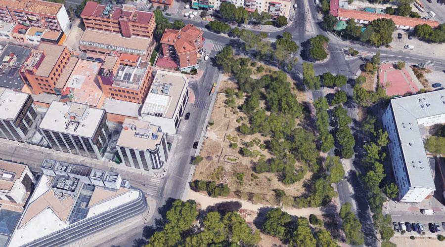 Terreno dotacional en suelo urbano. Pendiente de pedir la expropiación por ministerio de la ley