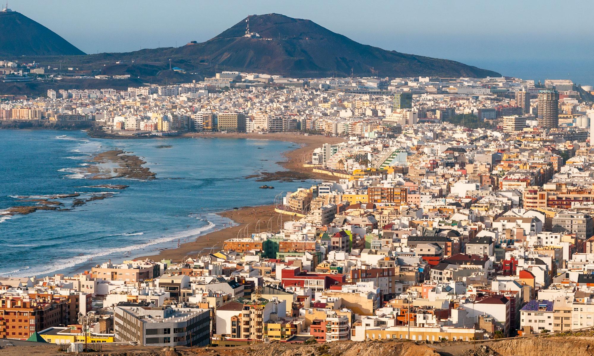 Centro urbano de Las Palmas de Gran Canaria